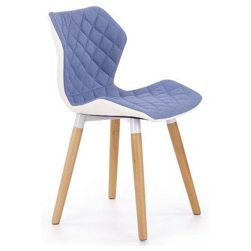 Krzesło drewniane kilmer - niebieskie marki Elior.pl