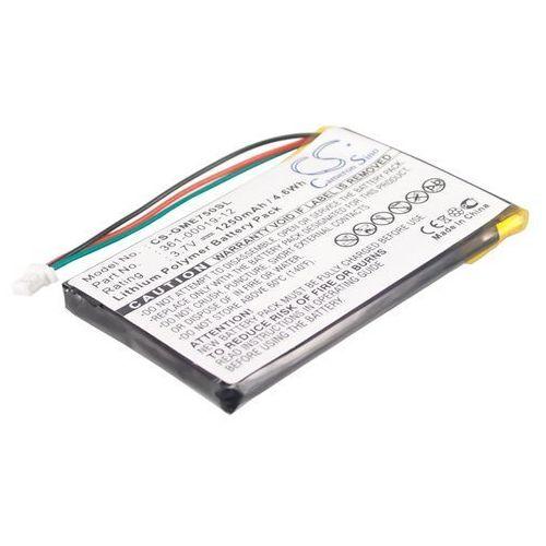 Garmin Edge 605 / 361-00019-12 1250mAh 4.63Wh Li-Polymer 3.7V (Cameron Sino), GC-BGP030