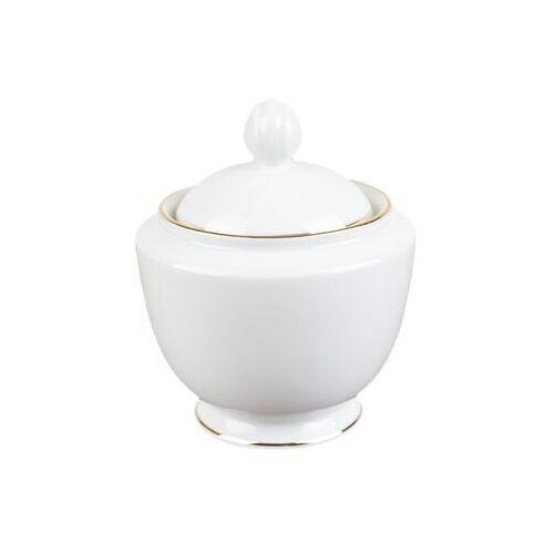 Chodzież polska biała cukiernica z porcelany 330ml
