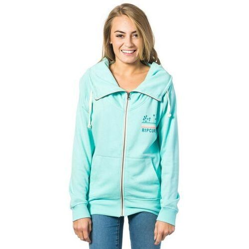 bluza RIP CURL - Sun And Surf Zip Through Fleec Aruba Blue (3254) rozmiar: S, kolor niebieski