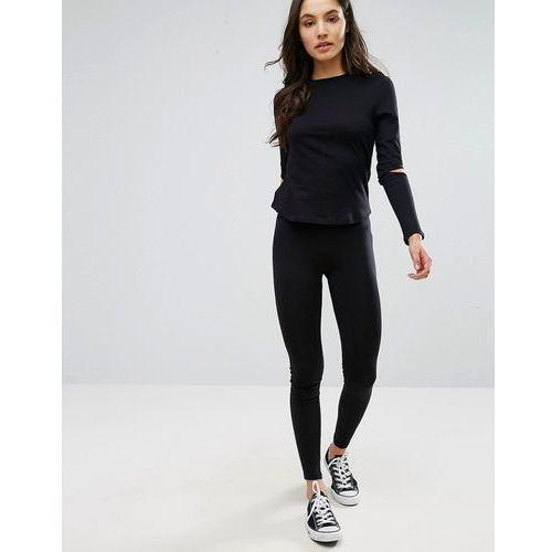 New Look High Waist Leggings - Black