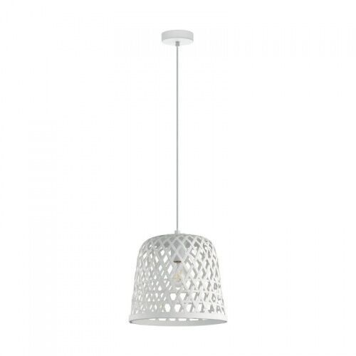 43111 kirkcolm lampa wisząca drewno biała loft vintage marki Eglo