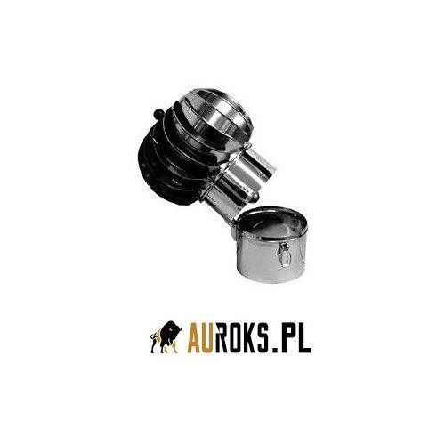 Turbowent podstawa rurowa otwierana turbina aluminiowa dolot bl. ocynkowana fi 150 marki Darco