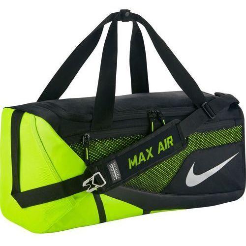 Torba Nike Vapor Max Air Duffel Medium - BA5248-010 - Black/Volt/Metallic Silver