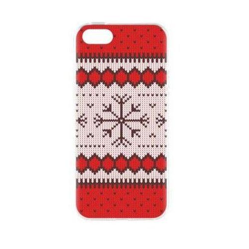 Etui FLAVR Case Ugly Xmas Sweater do Apple iPhone 5/5s/SE Czerwony (27414), kolor czerwony
