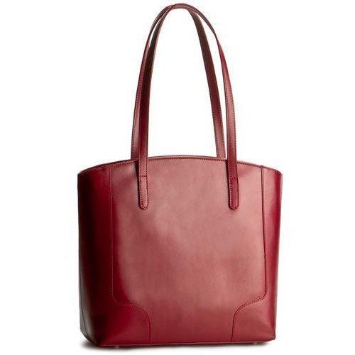 Torebka CREOLE - K10307 Czerwony, kolor czerwony