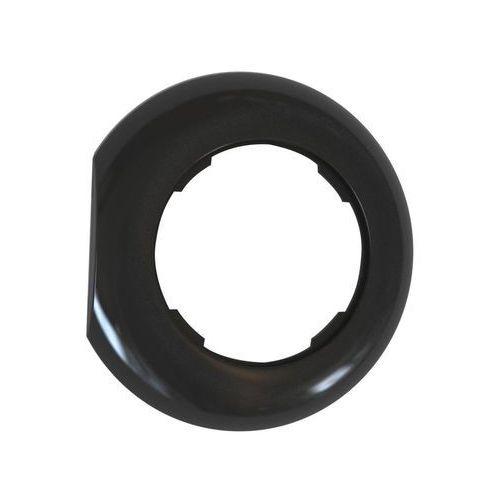 Ramka pojedyncza LF1001B LOFT KOŃCOWA czarny DPM (5903332588091)