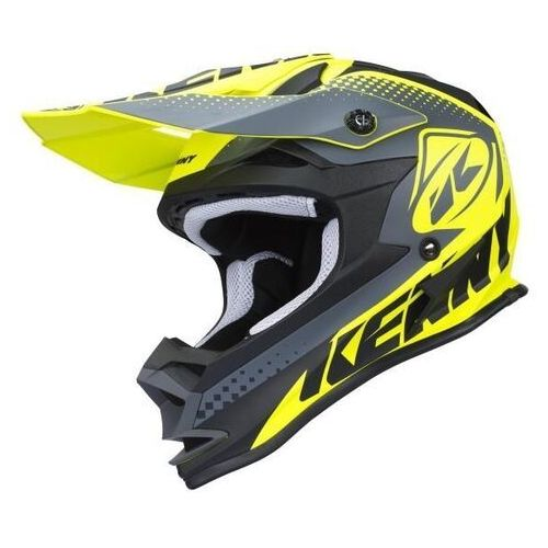 Kask cross performance neon yellow 2018 marki Kenny