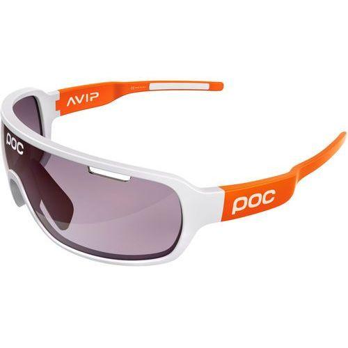 Poc do blade avip okulary rowerowe pomarańczowy/biały 2018 okulary sportowe (7325540817271)