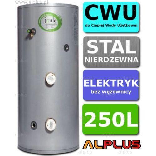 Joule Bojler elektryczny 250l cyclone direct nierdzewka grzałka 2x3kw podgrzewacz cwu bez wężownicy wysyłka gratis!