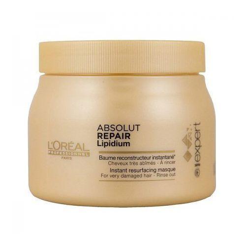 absolut repair lipidium - maska regenerująca włosy uwrażliwione 500ml marki Loreal