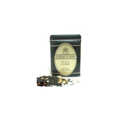 black jasmine, puszka liściasta 198g marki Harney & sons