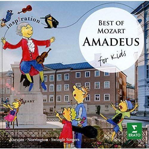 AMADEUS FOR KIDS - Karajan, Norrington, Zacharias, Swingle Singers (Płyta CD), 2564619569
