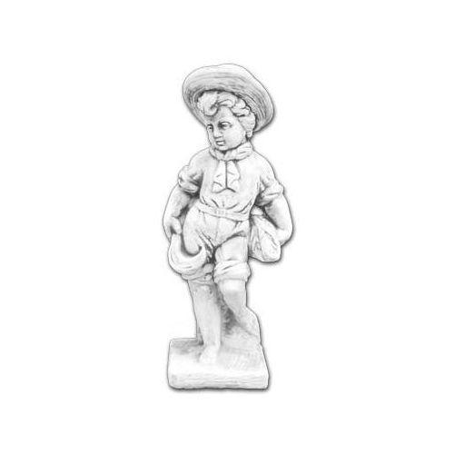 Figura ogrodowa z betonu Dziecko z Płaszczem 70cm