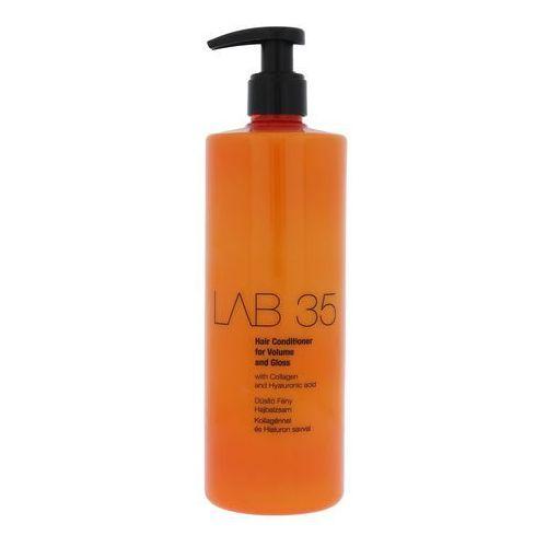 Kallos LAB35 Hair Conditioner For Volume And Gloss - Odżywka nadająca objętość i połysk, 500 ml, 5998889510954