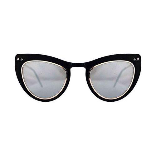 Spitfire Okulary słoneczne outward urge tr90 black/silver mirror