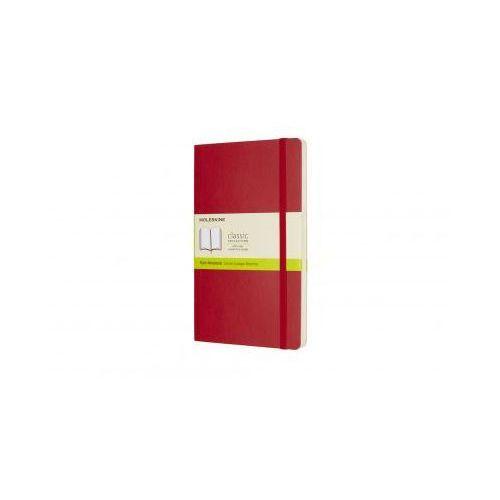 Notes Moleskine Classic L gładki czerwony - Moleskine, MOQP618F2