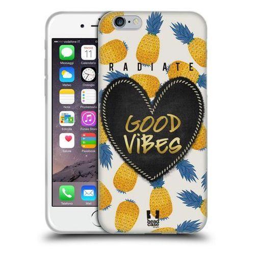 Etui silikonowe na telefon - heart patches pineapple marki Head case