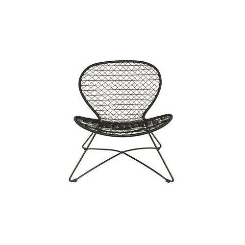 krzesło quadro, kolor czarny 800577-z marki Be pure