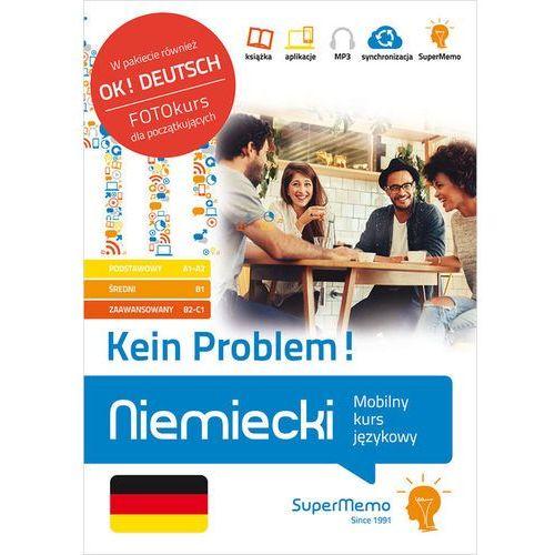 Niemiecki Kein Problem! Mobilny kurs językowy (pakiet: poziom podstawowy A1-A2, średni B1, zaawanso (792 str.)