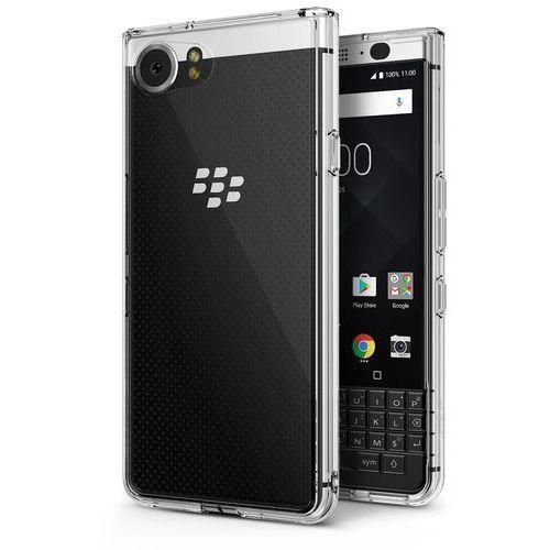 Ringke Etui fusion blackberry keyone clear + folia