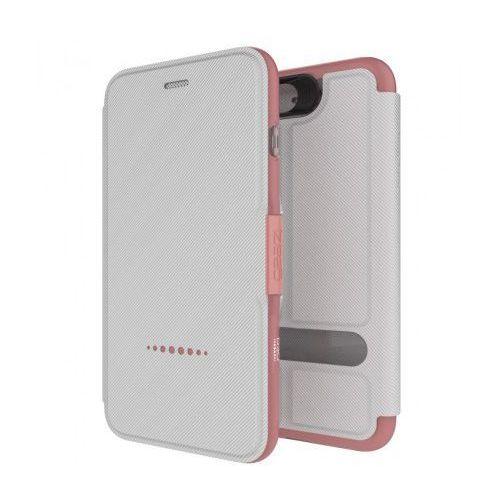 Etui Gear4 D3o Oxford iPhone 7 Plus - Biało - różowy (4895200202073)