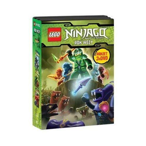 Lego ninjago. rok węży, części 1-3 pakiet (3 dvd)  7321997610045, marki Galapagos films