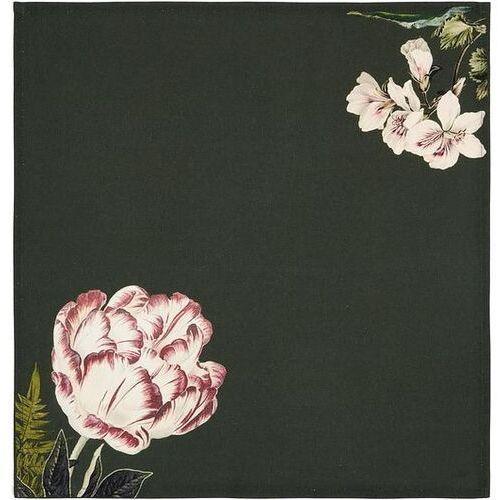 Serwetka gallery 45 x 45 cm ciemnozielona marki Essenza