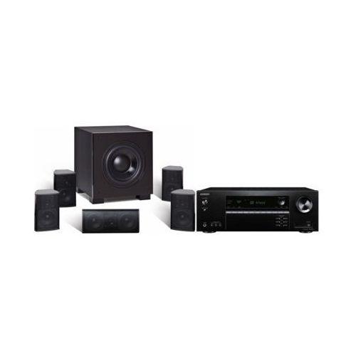 Kino domowe tx-sr393b + quadral aluma 2200 czarny marki Onkyo