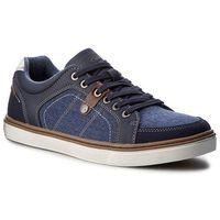 Sneakersy GINO LANETTI - MP07-16921-01 Granatowy
