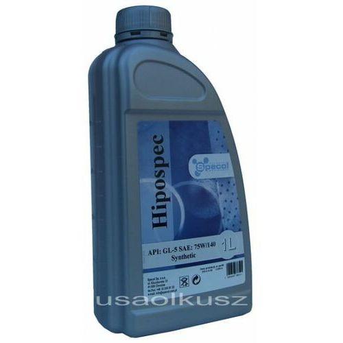 Syntetyczny olej mostu z automatyczną blokadą lsd 75w140 gl-5 marki Specol