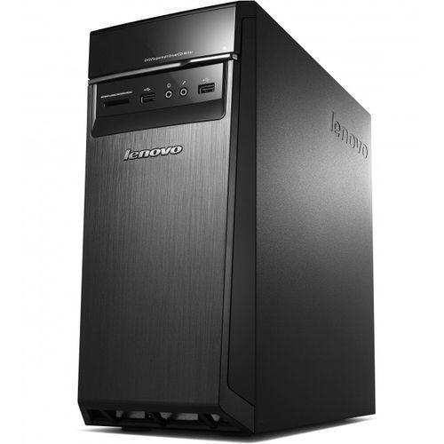 Komp stacj Lenovo H50-55 A8-7600 16GB 128GB SSD Win8.1 DVD-RW BT QUAD 3,1GHz + klawiatura, mysz,WiFi, 90BF003LPB_W8-16-128