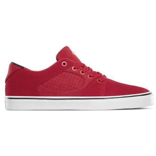 És Buty - square three red (600) rozmiar: 42.5