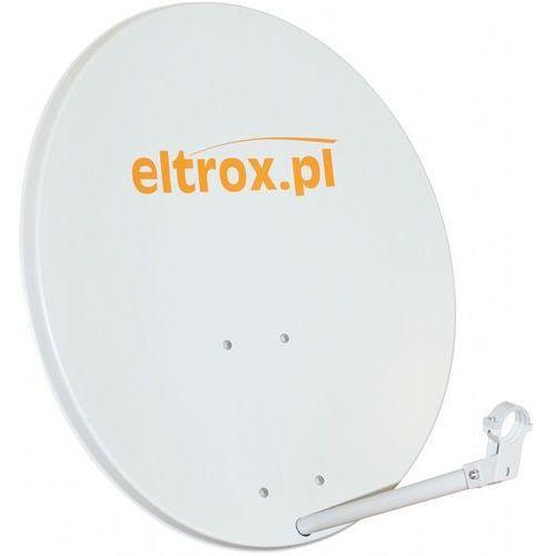 Czasza antena satelitarna 80 cm biała z logiem eltrox.pl marki Corab