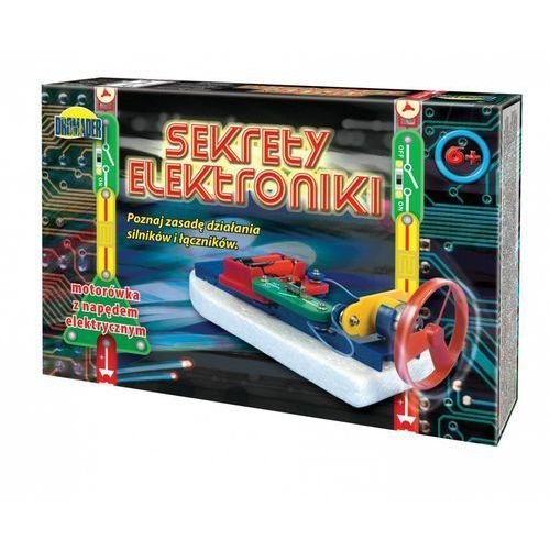 Dromax Zabawka edukacyjna dromader sekrety elektroniki motorówka (130-87292)