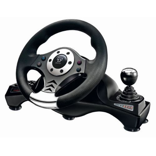 Kierownica Q-SMART Suzuka SW6060 (PC/PS2/PS3) + Zamów z DOSTAWĄ W PONIEDZIAŁEK! - produkt z kategorii- Kierownice do gier