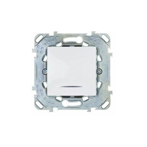 Unica Plus Łącznik pojedynczy 16A z podświetlaniem biel polarna MGU50.261.18NZ