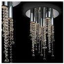Plafon LAMPA sufitowa LARIX MX93708-5A Italux kryształowa OPRAWA glamour crystal chrom przezroczysta