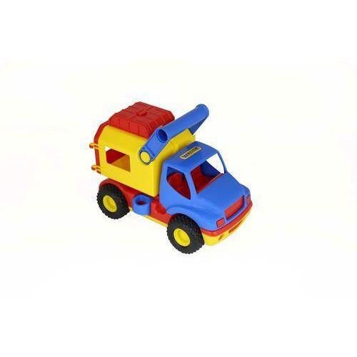 Construck - dostawczy samochód w siatce marki Polesie poland