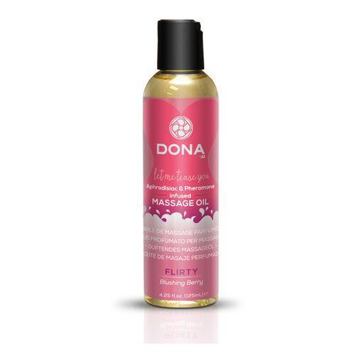 Olejek do masażu nuru lomi lomi- Dona Scented Massage Oil 125 ml Owocowy