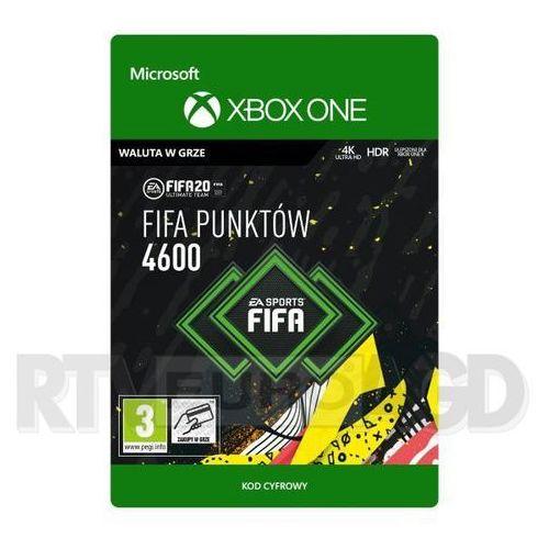 Microsoft Fifa 20 4600 punktów [kod aktywacyjny] xbox one