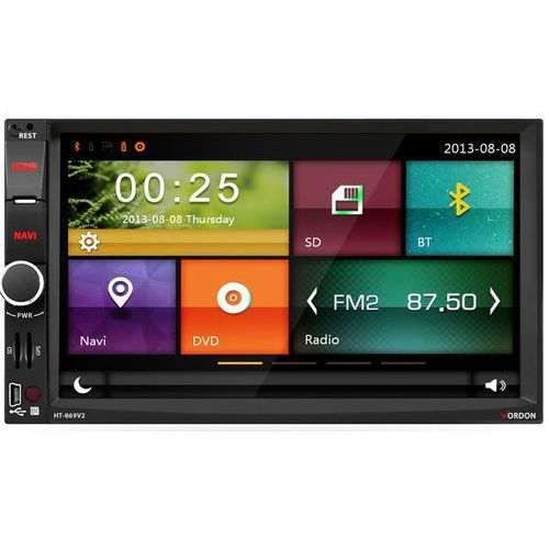 Vordon Radio samochodowe  ht-869v2 + kamera cofania 8irpl + darmowy transport! (5901801520986)