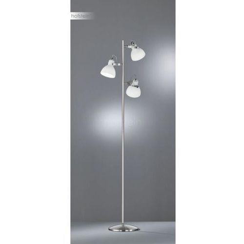 ginelli lampa stojąca nikiel matowy, 3-punktowe - nowoczesny - obszar wewnętrzny - ginelli - czas dostawy: od 6-10 dni roboczych marki Trio
