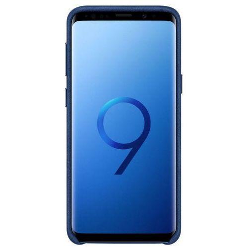 Samsung Galaxy S9 Alcantara Cover EF-XG960AL (niebieski), EF-XG960ALEGWW