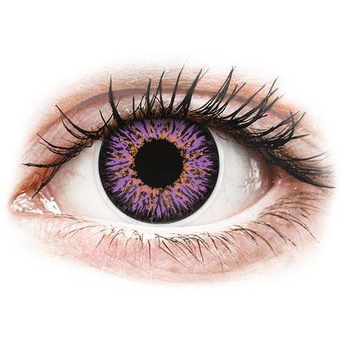 Colourvue glamour violet - zerówki (2 soczewki) marki Maxvue vision