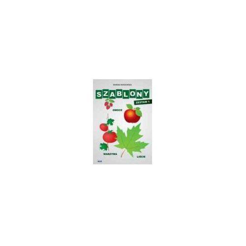 Szablony - zestaw 1 - owoce, warzywa, liście (42 str.)