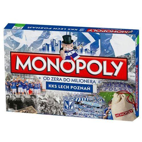 Winning moves Hasbro monopoly lech poznań fc - darmowa dostawa! (5036905024983)