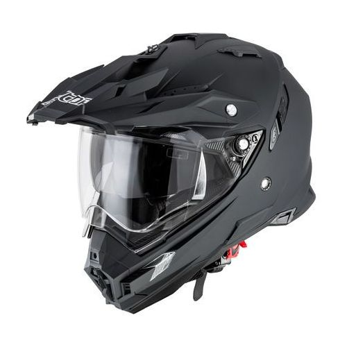 Kask motocyklowy motocrossowy Alltop AP-8851, Matt.czarny, XXL (8595153688424)