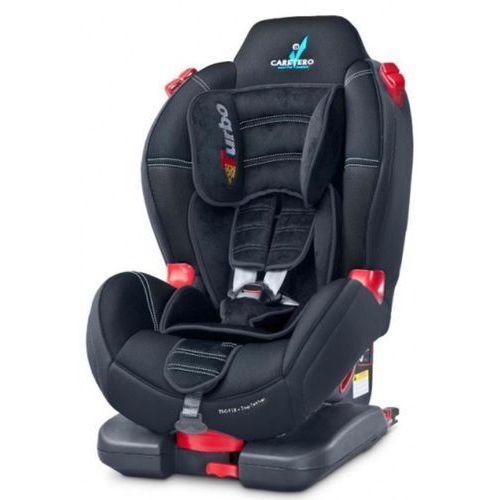 Fotelik samochodowy sport turbo fix czarny + darmowy transport! marki Caretero