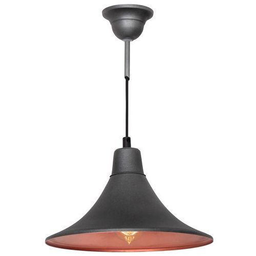 Lampa wisząca zwis żyrandol Aldex Nani 1x40W E27 grafit 785G19 (5904798635107)
